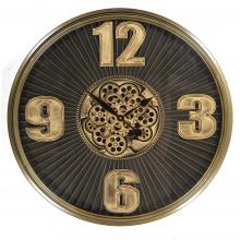 G6081488 Clock Gear Ø53cm D.Brown 81488