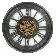 G6081280 Clock Gear Ø60cm Black 81280