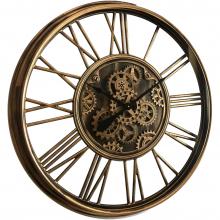 G6090572_0 Clock Gear Ø85cm A.gold 90572