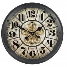 G6050231 Clock Gear Ø60cm Black