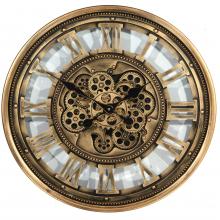 G6081266 Clock Gear Ø60cm Ant.gld 81266 (2)