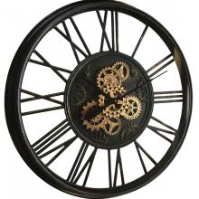 G6090596_0 Clock Gear Ø85cm Black 90596