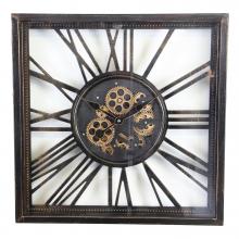 G6083376 Clock Gear Open 53x53cm A.Blck (2)