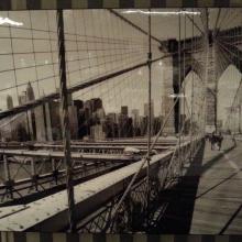 Hoogglans foto Brooklyn Bridge
